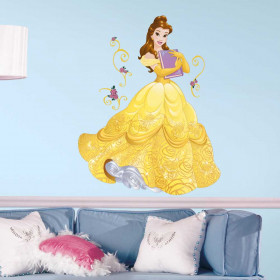Disney Princess - Belle wallsticker