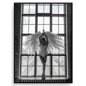 Posing Angel Plakat wallsticker