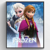 Frozen - Anna and Elsa Plakat