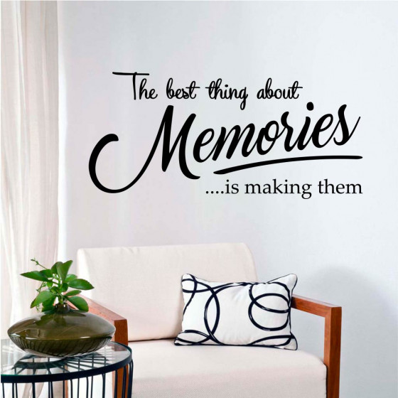 Memories wallsticker