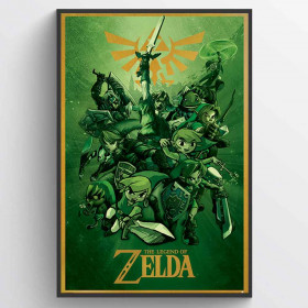 The Legend Of Zelda (Link) Plakat wallsticker