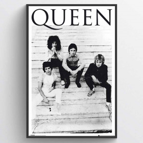 Queen Brazil 81 Plakat wallsticker