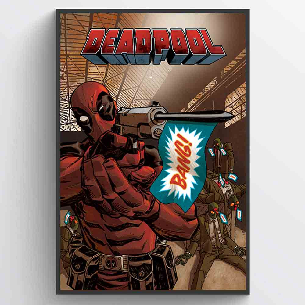 Deadpool (Bang) Plakat wallsticker