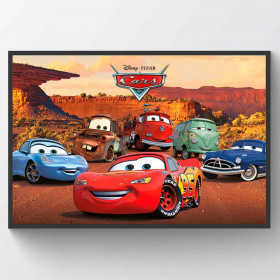 Cars Best Friends Plakat wallsticker