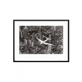 Time Life (DC-4 Over Manhattan) Plakat wallsticker