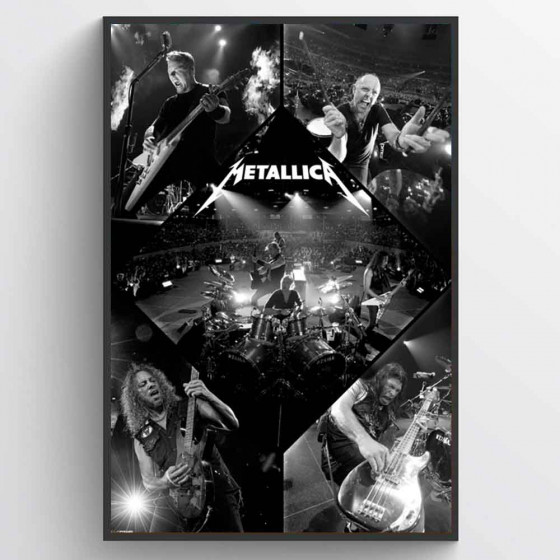 Metallica Plakat wallsticker