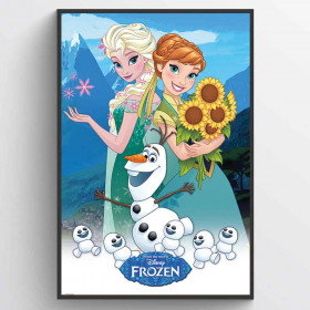 Frozen Fever Plakat wallsticker
