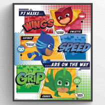 PJ Masks - On the Way Plakat