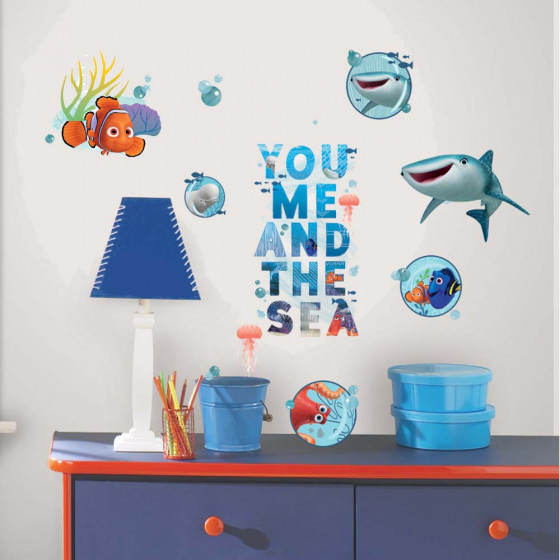 Find Dory & Nemo - package #1 wallsticker