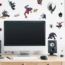 Spiderman favorite - pakke wallsticker