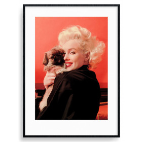 Marilyn Monroe (Love) Plakat wallsticker