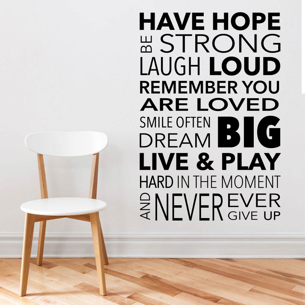 Have hope wallsticker