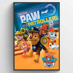 Paw Patrol - To The Paw Patroller Plakat wallsticker