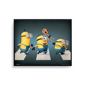 Minions (Abbey Road) Plakat wallsticker