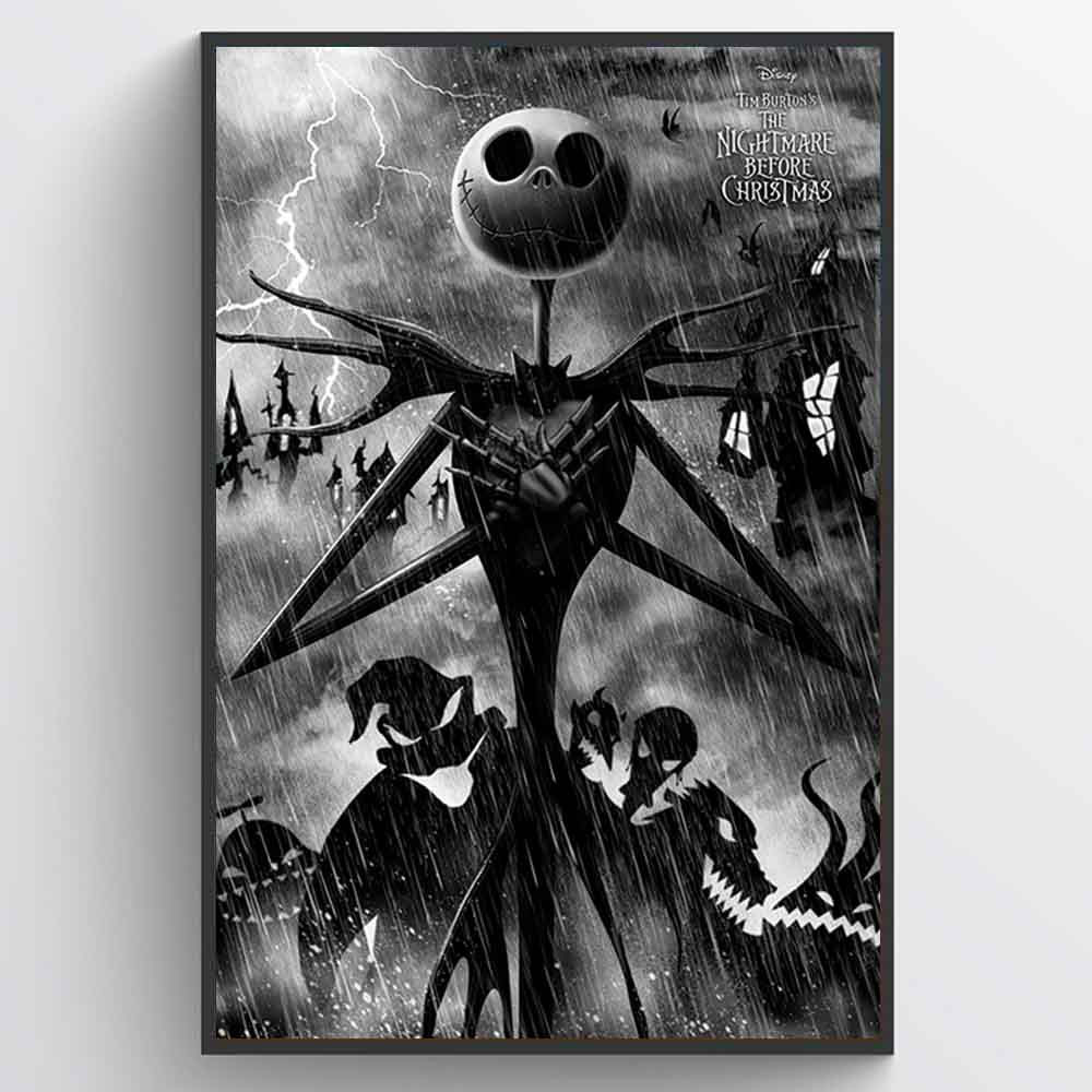 Nightmare Before Christmas (Storm) Plakat wallsticker