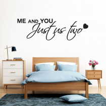 Me and you - Just us two