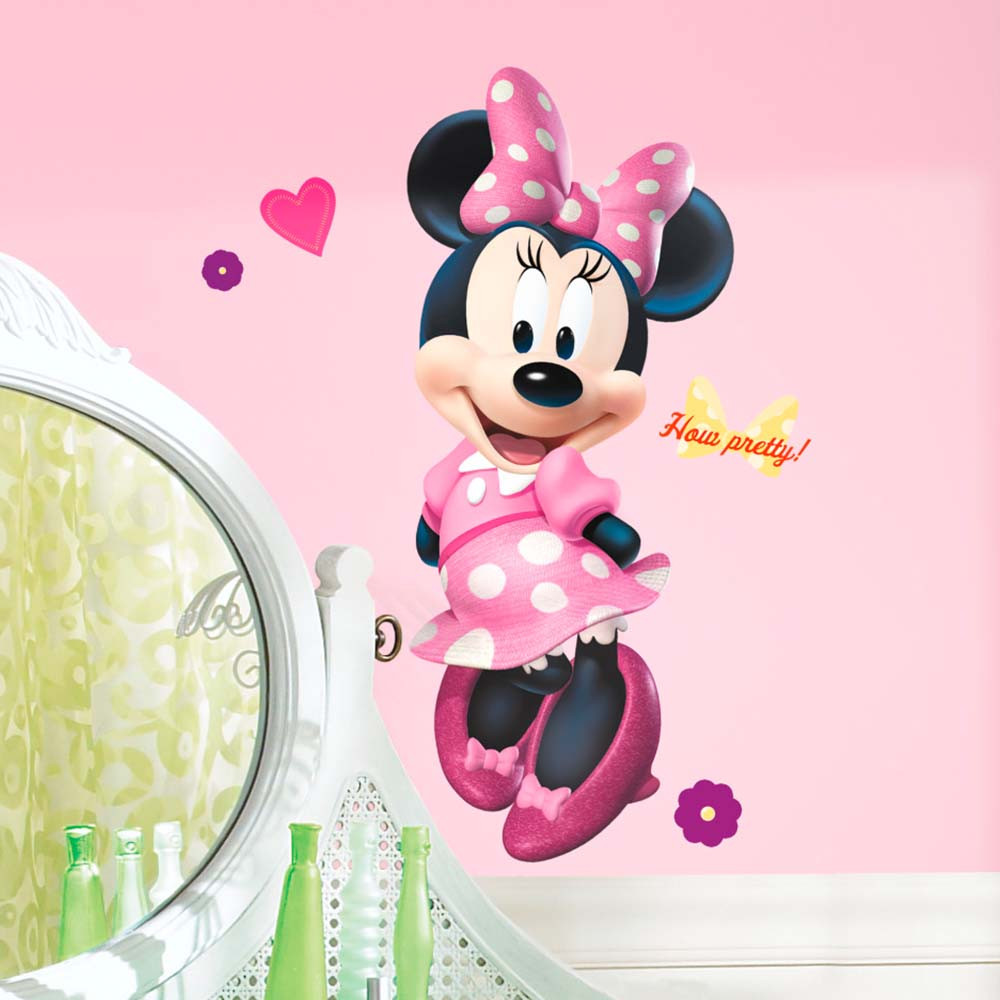 Minnie Mouse #2 wallsticker