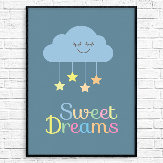 #2 Sweet Dreams Plakat wallsticker