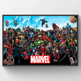 Marvel Universe Plakat wallsticker