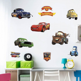 Cars - Pakke wallsticker