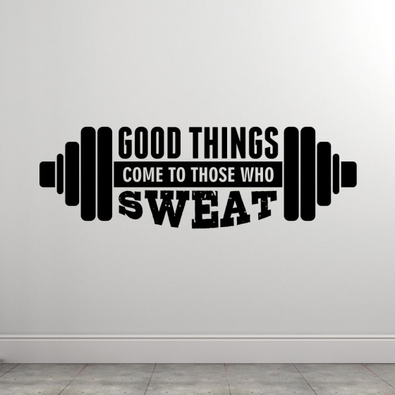 Good Things wallsticker