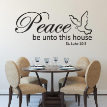 Peace be unto this house