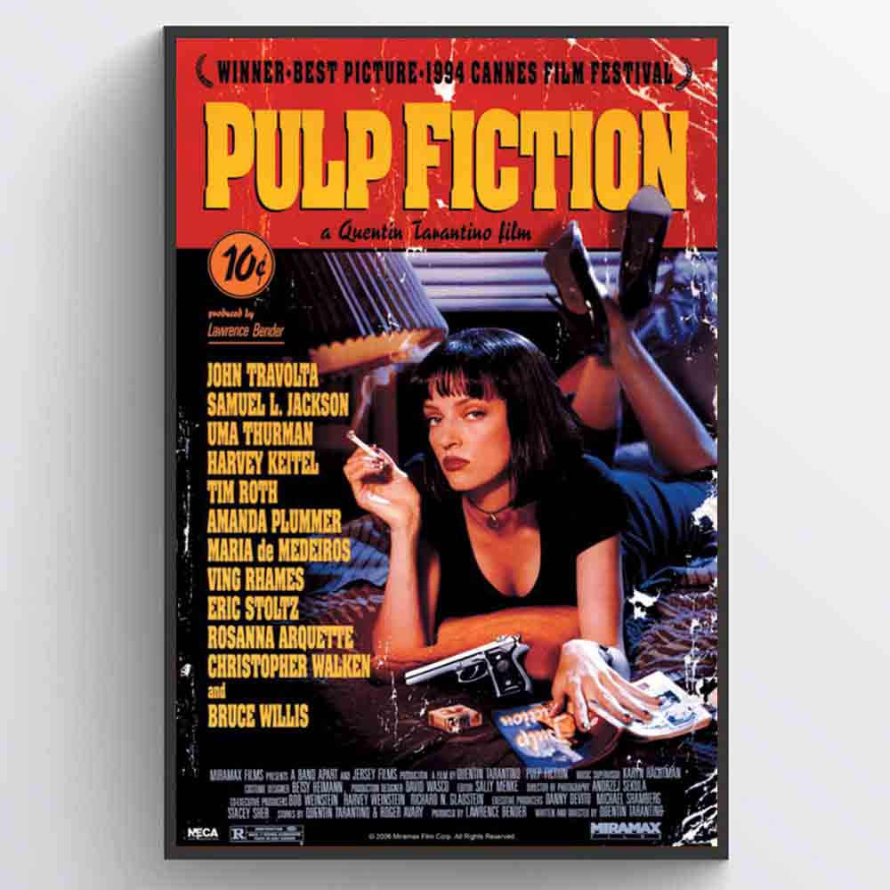 Pulp Fiction (Cover) Plakat wallsticker