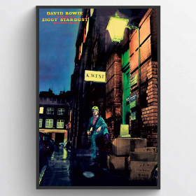 David Bowie - Ziggy Stardust Plakat wallsticker