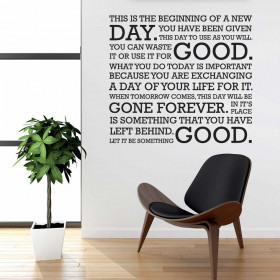 Good day wallsticker