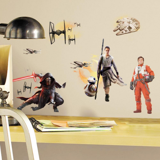 Star Wars - the force awakens - pakke wallsticker