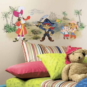 Captain Jake & the Never Land Pirates wallsticker