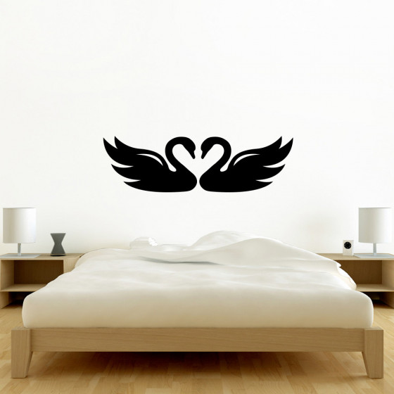 Svaner wallsticker