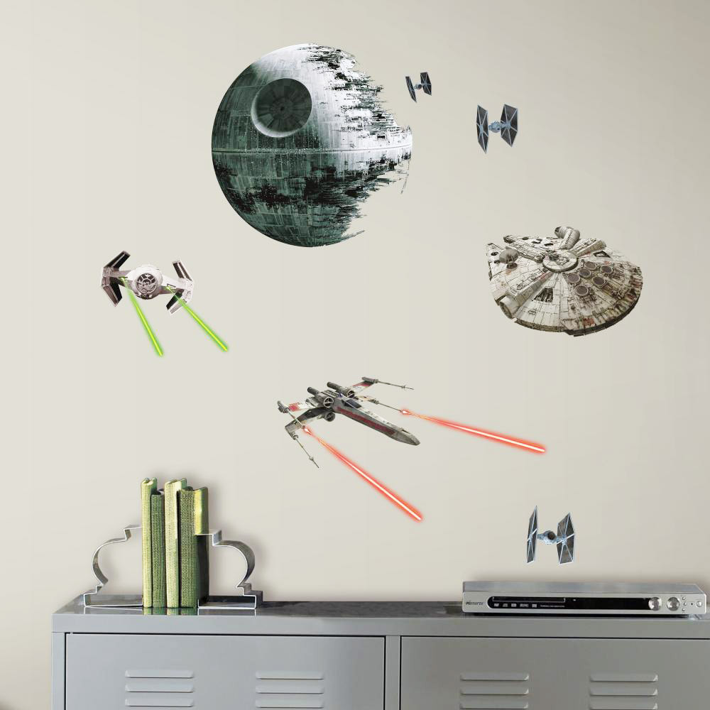 Star Wars - Klassiske rumskibe wallsticker
