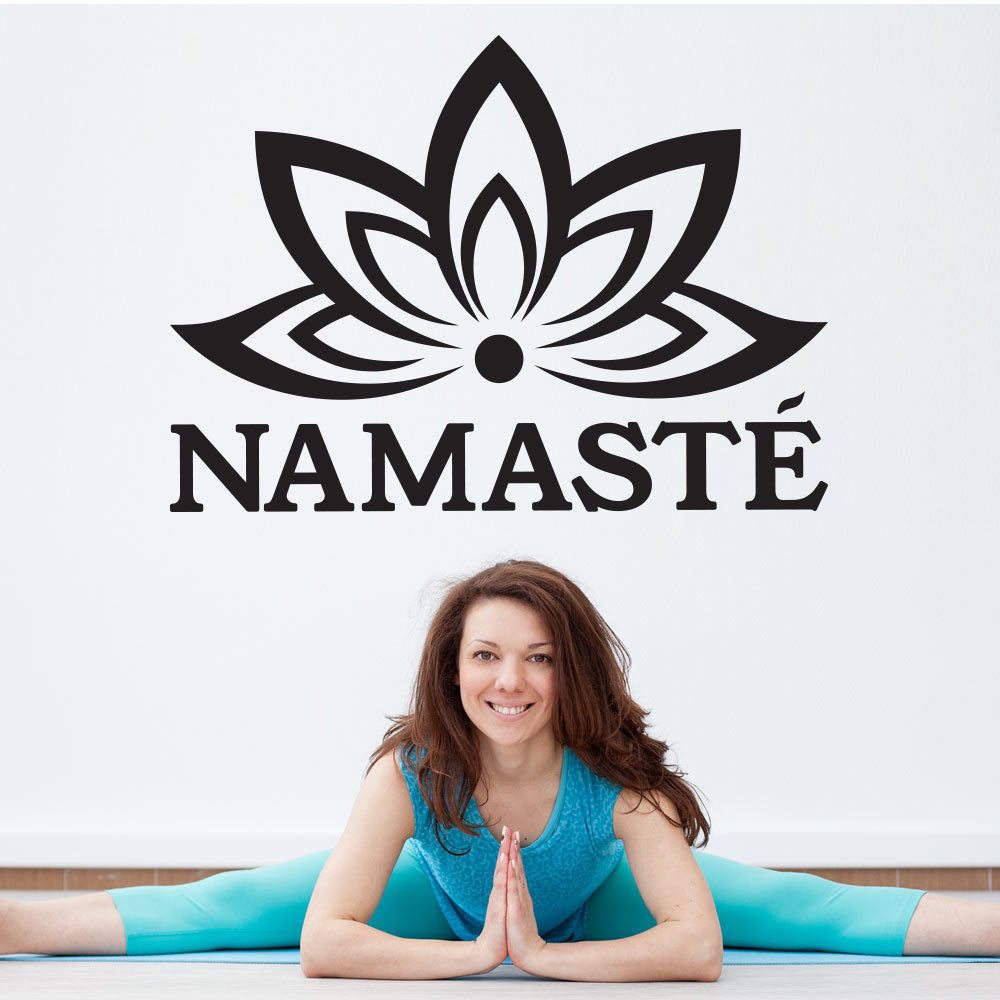 Namaste wallsticker