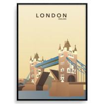 London - Tower Bridge plakat