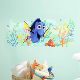 Find Dory & Nemo wallsticker