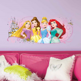 Disney Prinsesser #2 wallsticker