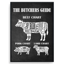 The Butchers Guide Plakat