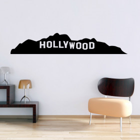 Hollywood wallsticker