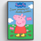 Gurli Pig Muddy Puddles Plakat wallsticker
