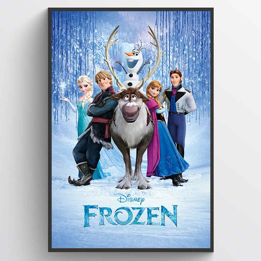 Frozen Plakat wallsticker