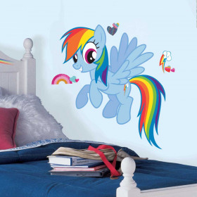 My Little Pony - Rainbow Dash wallsticker