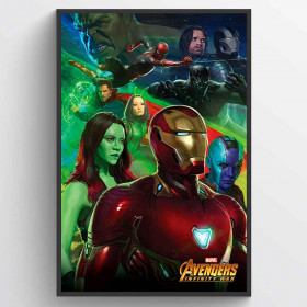 Avengers Infinity Wars Iron Man Plakat wallsticker