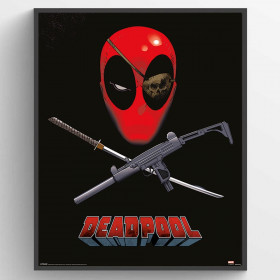 Deadpool (Eye Patch) Plakat wallsticker