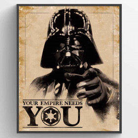 Star Wars Classic (Your Empire Needs You) Plakat wallsticker