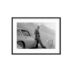 #1 James Bond - Aston Martin Plakat wallsticker