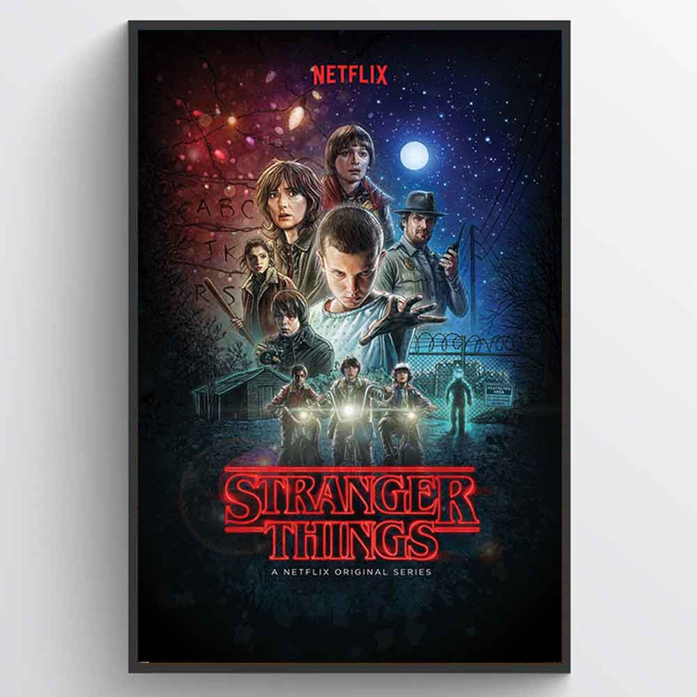 Stranger Things (One Sheet) Plakat wallsticker
