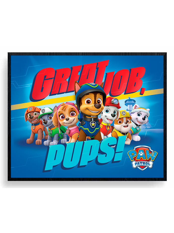 Paw Patrol (Great Job Pups) Plakat wallsticker