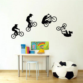 BMX wallsticker