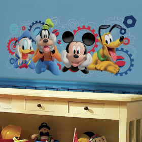 Mickey Mouse klubhus wallsticker